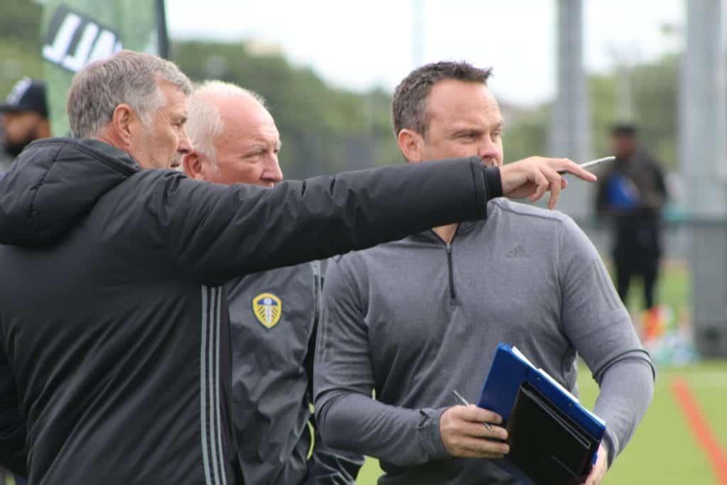 PFSA UK Football Trials Scouts In Attendance