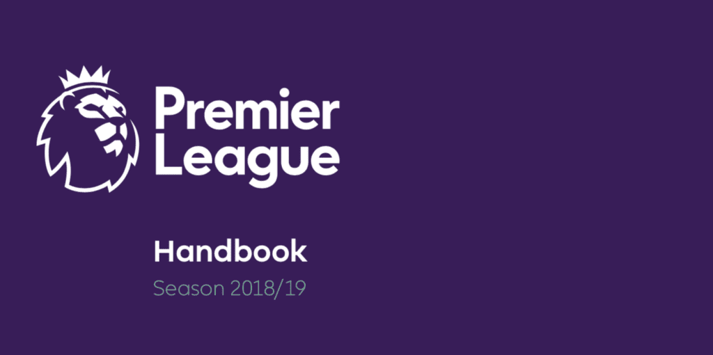 Premier League Handbook 2018/19
