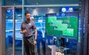 Richard Bredice Opposition Analyst for Manchester City