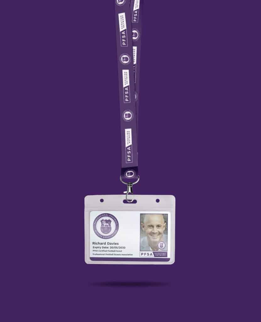 PFSA Membership ID card
