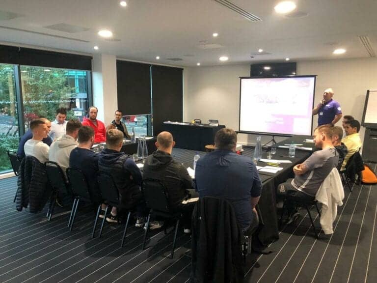 PFSA Level 2 held at the Hotel Football, Manchester