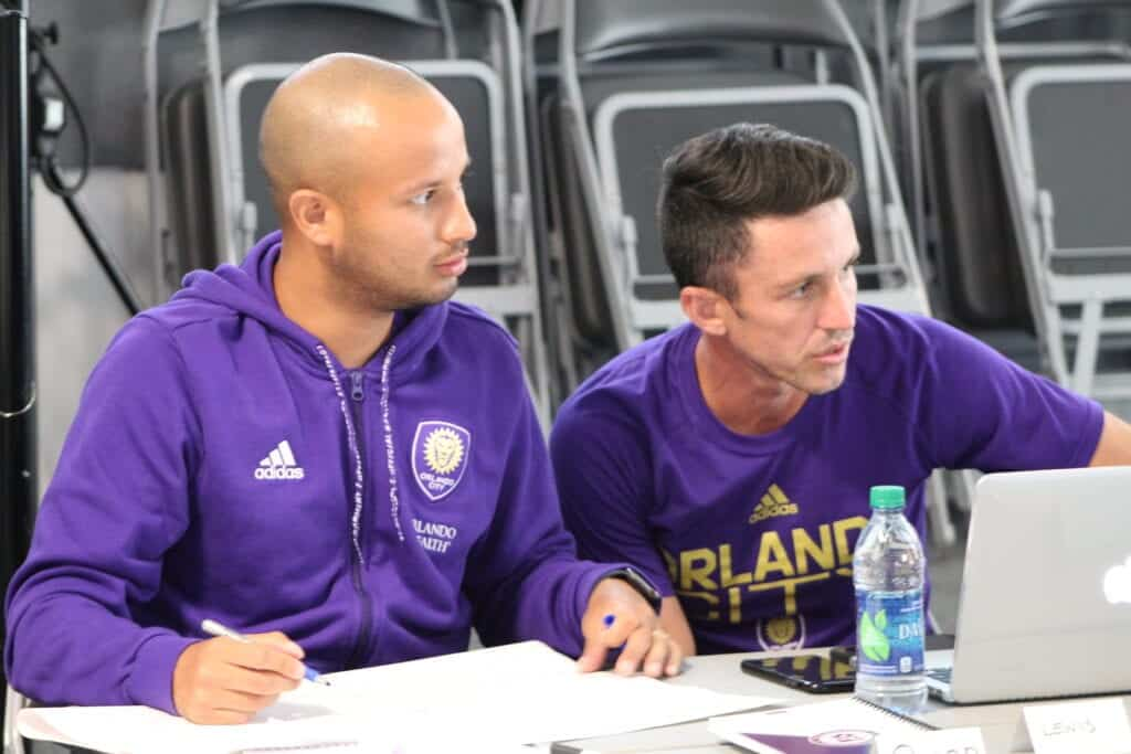 The PSSA with our partners Orlando City.