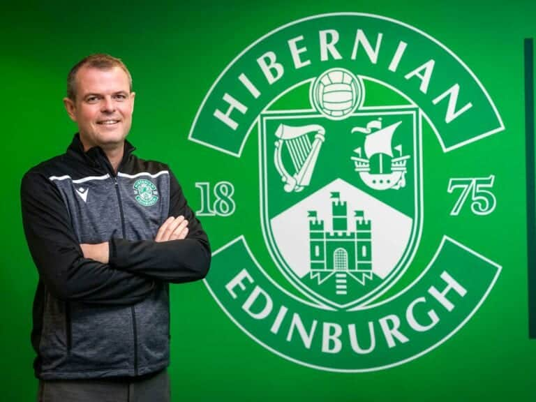 Graeme Mathie PFSA certified and Hibs Sporting Director