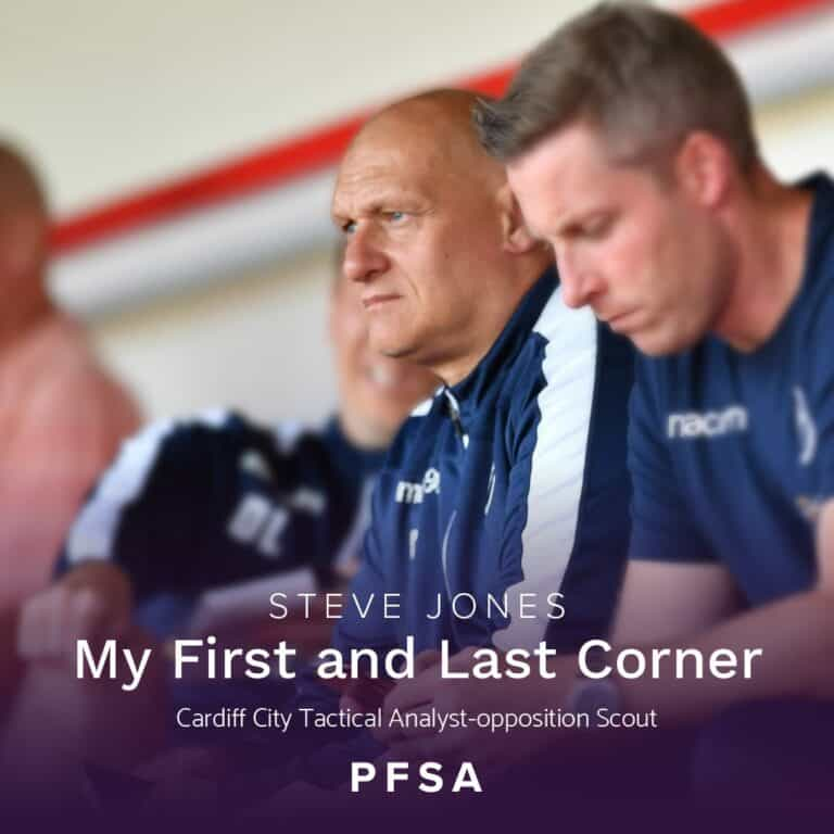 My First and Last Corner with Steve Jones