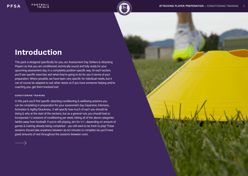 PFSA Football Training Programmes