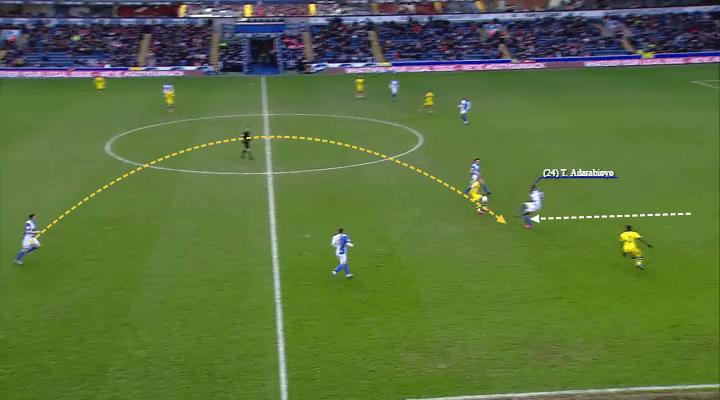 Adarabioyo progressing nicely on loan at Blackburn