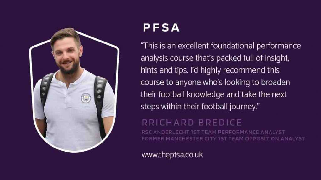 Richard Bredice - Performance Analysts and member of the PFSA.
