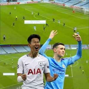 Manchester City v Tottenham – The art of running behind