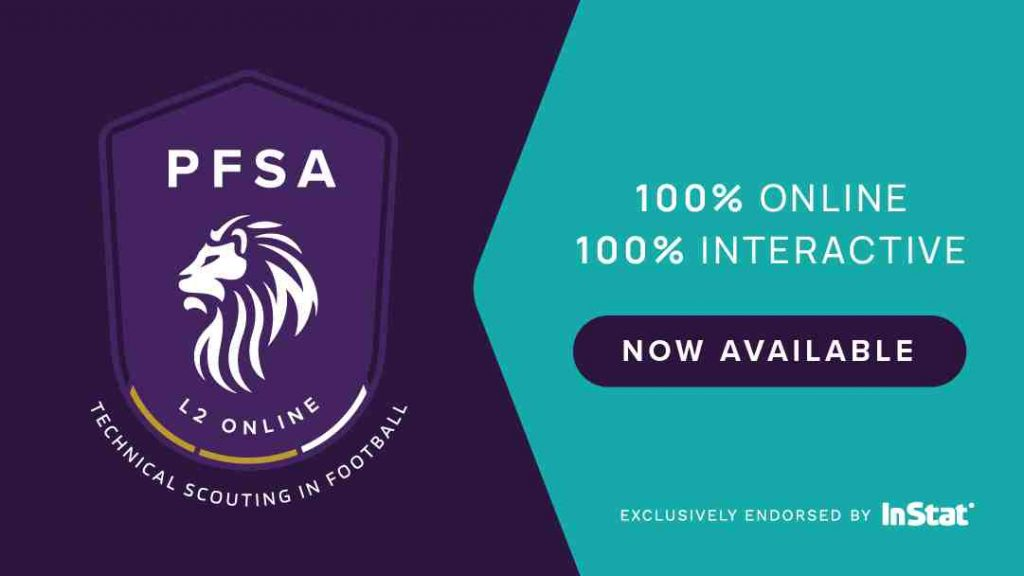 PFSA Level 2 Technical Scouting In Football