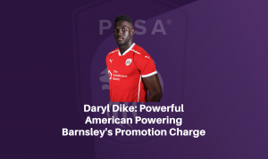 Daryl Dike: Powerful American powering Barnsley's promotion charge