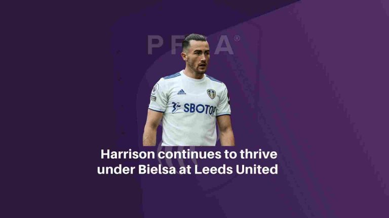 Harrison continues to thrive under Bielsa at Leeds United