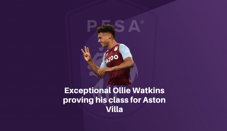 Exceptional Ollie Watkins proving his class for Aston Villa