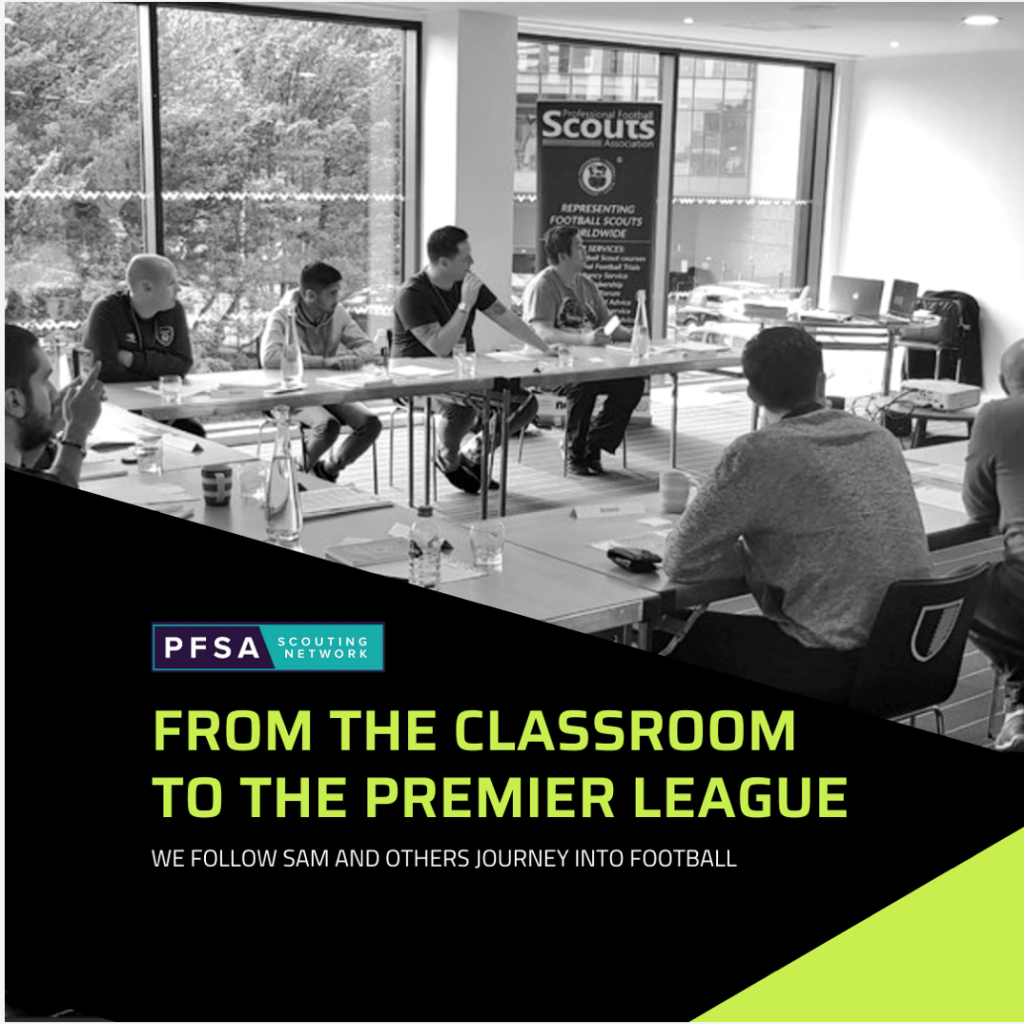 From the PFSA Classroom to the Premier League