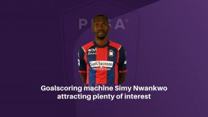 Goalscoring machine Simy Nwankwo attracting plenty of interest