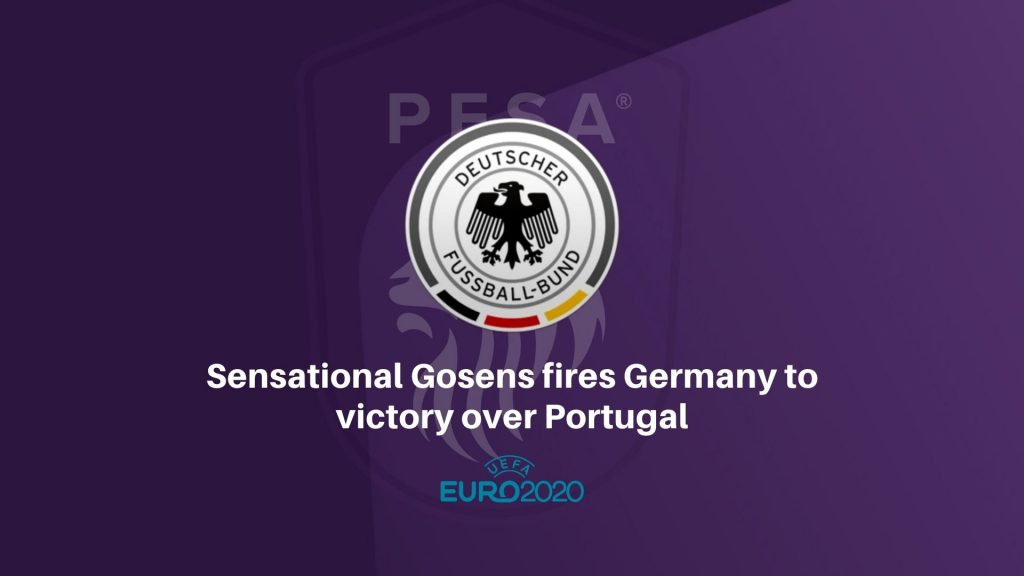 Sensational Gosens fires Germany to victory over Portugal