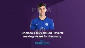 Silky skilled Havertz making waves for Germany