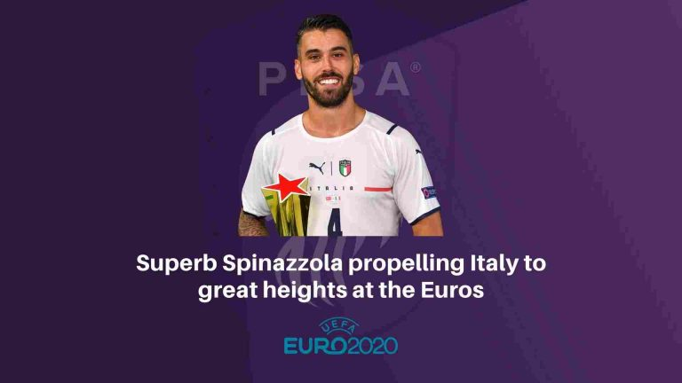 Superb Spinazzola propelling Italy to great heights at the Euros