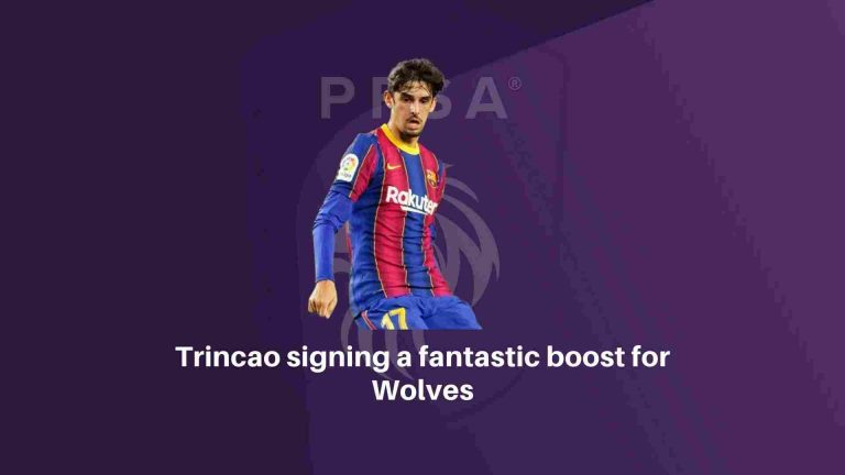 Trincao signing a fantastic boost for Wolves