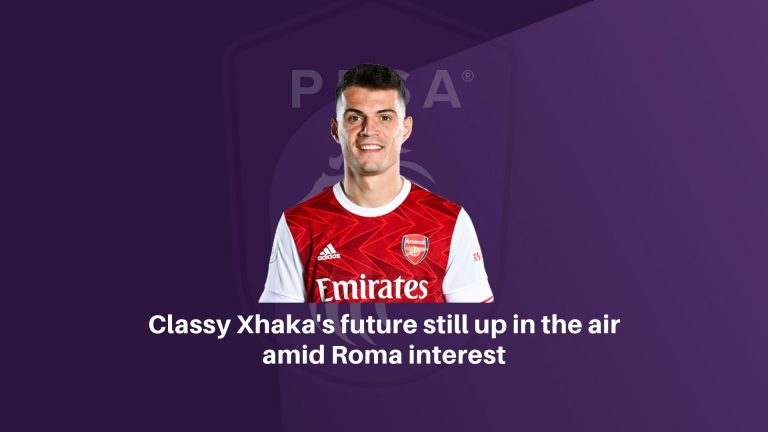 Classy Xhaka's future still up in the air amid Roma interest