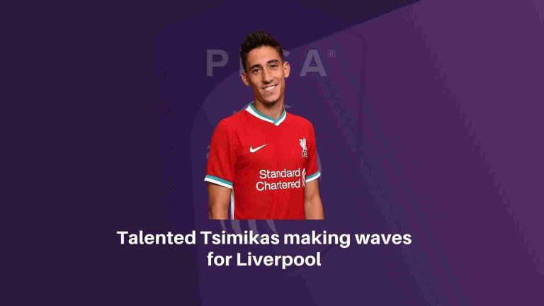 Talented Tsimikas making waves for Liverpool